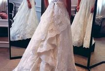 Britt's wedding gowns