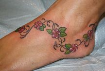 Foot tattoos / Even though Martin doesn't want me to have one :-(