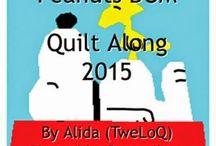 Peanuts BOM Quilt along 2015
