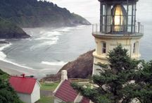 LIGHTHOUSES / by Delores Beachdell