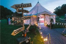 Marquee / Tent Wedding Ideas / Planning a tent wedding, here are some great ideas for decorating!