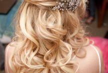 wedd hair rustic