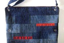 Jean reciclados / Hacer mil cosas y sobre todo bolsos y carteritas de jean, hasta he comprado jeans en ferias para reciclarlos