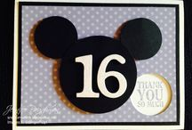 Mickey Mouse / Scrapbooking and Cards