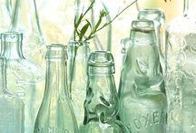 Bottles / Glass bottles