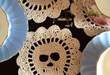 crochet- Skull