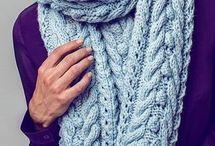 Schal stricken