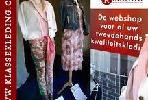De Hengelose etalage / Elke twee weken kun je nieuwe combinaties bekijken van Klassekleding. Niet in de webshop, maar in de fysieke etalage in Hengelo, Burgemeester Jansenplein (naast Hotel Nationaal).