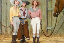 Cowgirl at Heart! / Cowgirl art and style!