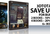 3dtotal offers and promotions! / Recent offers and promotions available on the site https://www.3dtotal.com (please note, these do change regularly and expire, so check the site often to make sure you don't miss out) / by 3DTotal