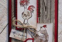 DIY Cards - Chicks & Hens