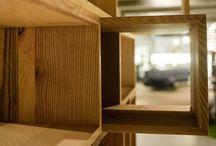 Legno / Articoli in legno massello: faggio crudo, rovere, noce americano, frassino olivato