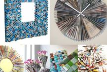 DIY / decoupage, paintning, sewing, drawing, upcycling, inspirations