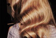 Styling langt hår