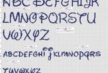 alfabeto scrittura