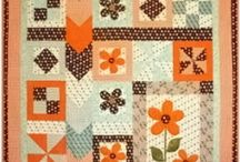 Inspirational Quilts -Traditional / Quilts that inspire me to start sewing or designing. Colour and block combinations, clever borders and bindings with a more traditional patchwork look.