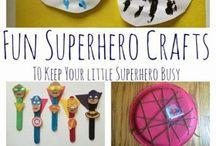 Micah's 4th birthday party-Superhero / Party / by Megan Faulk
