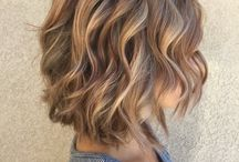Woman Short Hair Color