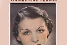 1930s hair + makeup