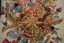 Imagimorphia / Coloring book