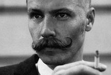 The Moustache. / .