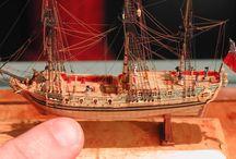 Miniature ship model
