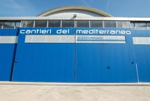 Cantieri del Mediterraneo srl / CDM srl has been working in the yachting field for more than 60 years, offering any kind of intervention on GRP, wood or metal crafts. Over the years, the skills in building and refitting have unceasingly increased, with the result of a wide range of top-quality services offered. Amongst them, let's mention: yacht storage in recently reconstructed covered shed (1600 sqm for boats up to 30mt), open space of 5000 sqm, spare part warehouse, wood and steel workshops, hauling dock...and much more.