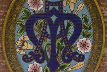 Liturgie / Détails broderie, passementerie