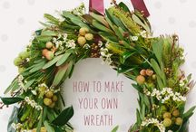 Christmas Wreath ideas / DIY Christmas wreath ideas