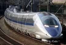 Trains ~TGV ~ Shinkansen