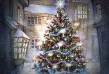 Christmas Enchantment / Lovely scenes, pretty decorations and the charm of Christmas's gone by.