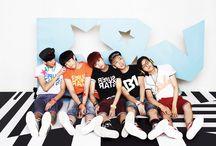 B1A4 / Sandeul, Baro, CNU, Jinyoung, Gongchan. Bias: Baro