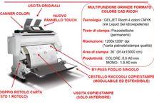 Plotter e Scanner A0 / Multifunzione per stampare e scansire disegni in A0