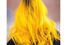 crazy colour of hair