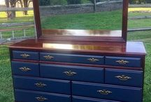 My Work / Furniture I have refinished