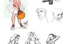 drawing (people)