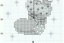 borduren winter en kerst