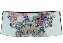 Belt 14 - Butterfly Effect / Women Leather Belt, Limited Edition Designer Leather Belt COLOURS OF MY LIFE - Limited Edition wearable art signed by Anca Stefanescu.