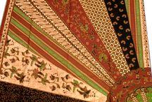 Batik Milo / Koleksi kain batik milo atau batik sinaran