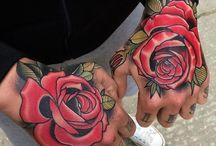 duże tatuaże