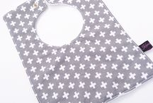 Baby toddler feeding nursing bibs in square and round shapes