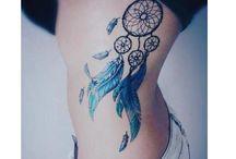 Dream catcher tattoos/ art