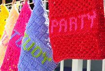 Washcloths / Dishcloths / Coasters / Plus / by Celia Johnson