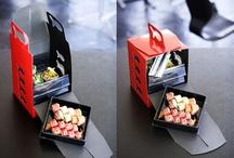 embalagem sushi