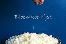 Alternatieven voor rijst, pasta, brood, etc