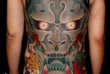 般若 tattoo