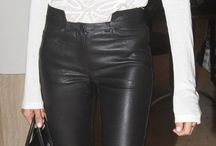 Leather Trouser outfit ideas