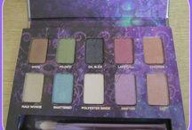 Mis paletas favoritas / Paletas de sombras de ojos favoritas.