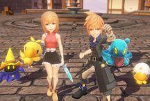 Ya disponible la demo de World of Final Fantasy