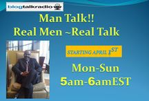 Man Talk Radio / Man Talk!! Real Men~Real Talk 4am EST with Jerome Moore is an honest, refreshing, empowering, fun and inspirational talk radio show. Jerome's guests and topics remind people that being your authentic self is one of the most important and liberating aspects of growth and life. Jerome is a bestselling author, well-known keynote speaker, and marital development coach. He has inspired hundreds  through his speaking, workshops, coaching.  For Booking Email: marriage4lifeinstitute@gmail.com